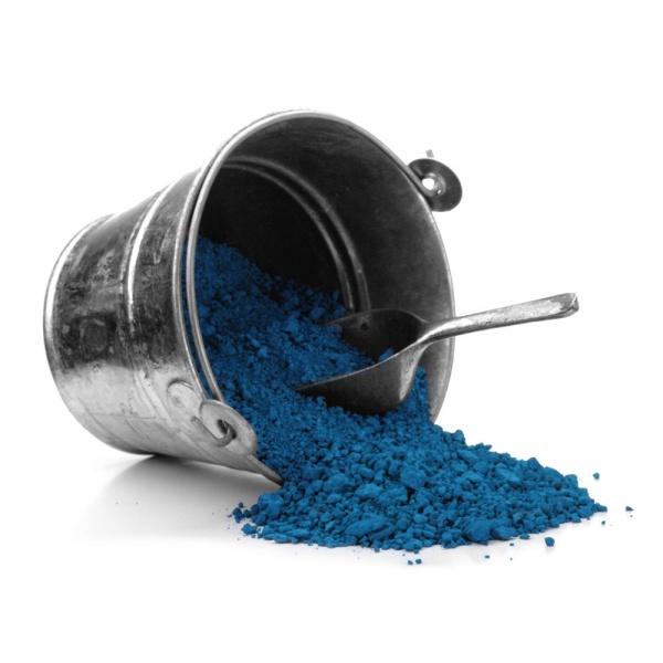 Blaue Pigmente