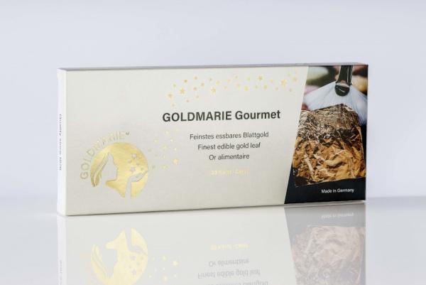 GOLDMARIE® Gourmet Set mit Anhebepinsel