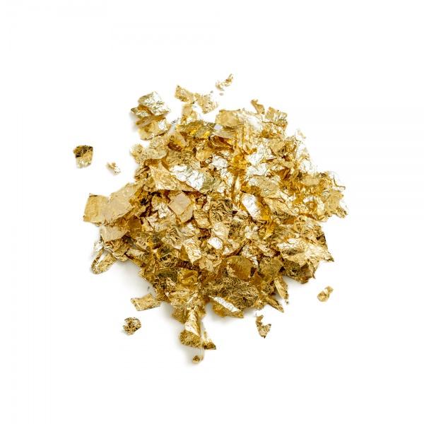Metal Leaf Tamise Gold