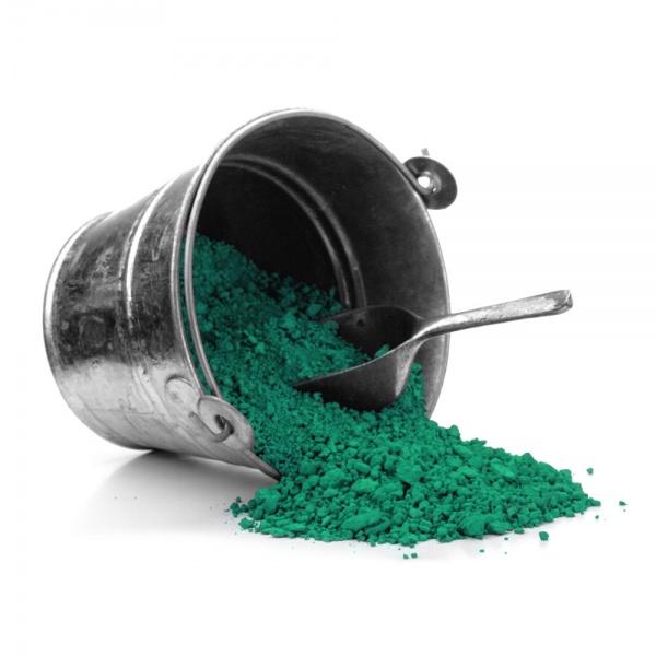 Grüne erde, Veroneser, Chromoxidgrün, Erde Böhmisch, Schweinfurtergrün, Zinkgrün