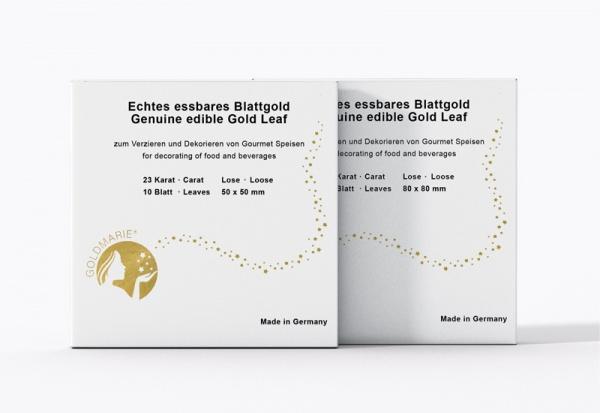 GOLDMARIE® Essbares Blattgold 23 Karat lose