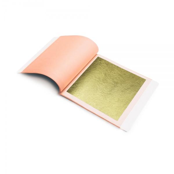 Blattgold 16,7 Karat, Rahmengold, Polimentgold
